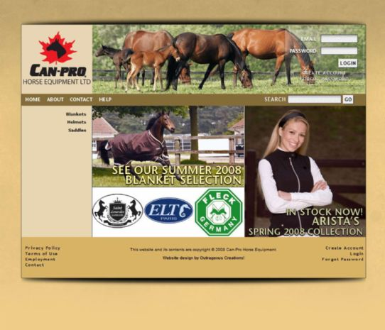 Can-Pro Horse Equipment